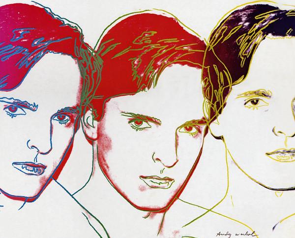 Andy Warhol eh, mica pizza e fichi